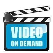 Video on demand — Stock Vector