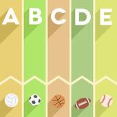 Sports infographic — Vector de stock