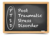 Blackboard PTSD — Stock Vector