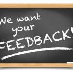 Blackboard Feedback — Stock Vector #48699885
