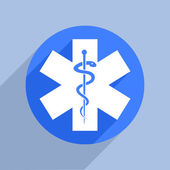 Star of Life — Stock Vector