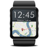 Smartwatch Navigation — Vector de stock