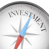 Kompass investeringar — Stockvektor