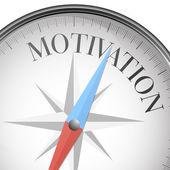 Compass motivation — Stock Vector