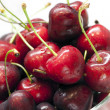 Foto de Stock  : Heap of sweet cherrie