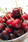 Heap of sweet cherrie — Stock Photo