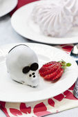 Chocolate cake mouse — Stockfoto