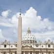 St Peters Basilica, St Peters Square, Vatican, Rome, Italy — Stock Photo