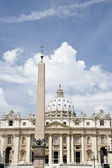 St peters basiliek, st peters square, vaticaan, rome, italië — Stockfoto
