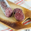 Blood pudding sausage — Stock Photo