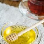 miel, té y limones — Foto de Stock