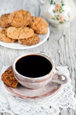 Coffee and cookies — Stockfoto