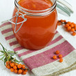 Stock Photo: Buckthorn jam