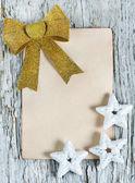 Gratulation weihnachtskarte — Stockfoto