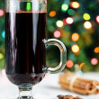 Spiced hot wine - christmas drink — Zdjęcie stockowe #15728259