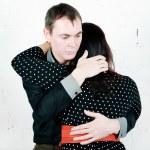 Man comforting his woman — Stock Photo #18900571