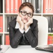 Boring office worker — Stock Photo #37643673