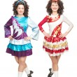 Stock Photo: Irish dancers in hard shoes