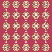 Circles retro style pattern — Stock Photo