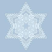Design snowflake — Stock Vector