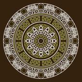 Ornamental ethnicity pattern — Stock Vector
