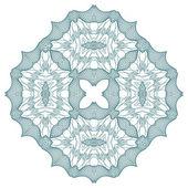 Vector guilloche rosette — Cтоковый вектор