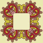 Vector decorative design element — Stock Vector