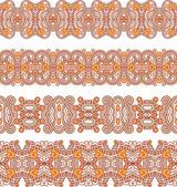 Patrón sin costuras ornamental — Vector de stock