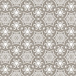 Stock vektor: Seamless colorful retro pattern background