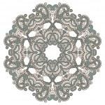 Vector round decorative design element — Stock Vector #14681283