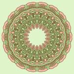 Vector round decorative design element — Stock Vector #14694997