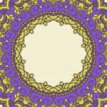 Vector round decorative design element — Stock Vector #14940147
