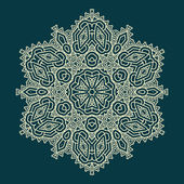 Design snowflake — Vector de stock
