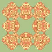 вектор квадратные декоративные дизайн элемент — Cтоковый вектор
