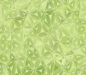 Green Floral Pattern — Stock Vector