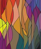 染色玻璃窗口 — 图库矢量图片