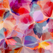 Multicolored Background Watercolor Painting — Imagen vectorial