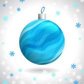 Christmas Ball — Cтоковый вектор
