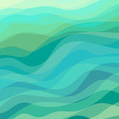 Abstract Wavy Background — Stock Vector