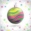 Stock Vector: Christmas Ball