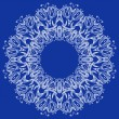 Ornamental Round Lace Pattern — Vettoriali Stock