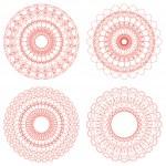 Set of Vector Guilloche Rosettes — Stock Vector #40467969
