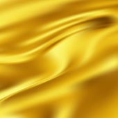 Abstract Texture, Gold Silk — Stock Photo