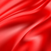 Abstract Texture, Red Silk — Stock Photo