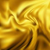 Abstract Vector Texture, Yellow Silk — Stock Vector