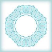 Roseta guilloche vector — Vector de stock
