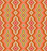 Color Abstract Retro Zigzag Vector Background — Stock Vector