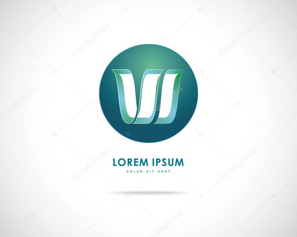 Logo Design Abst...W Logo Design Vector