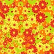 Stock Vector: Floral vector pattern