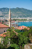 View on the town Alanya, Turkey — Stock Photo